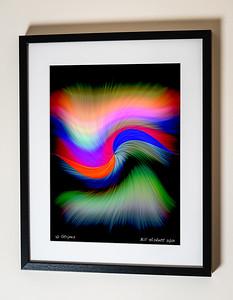 10 Stripes Framed(C) Bill Hiskett