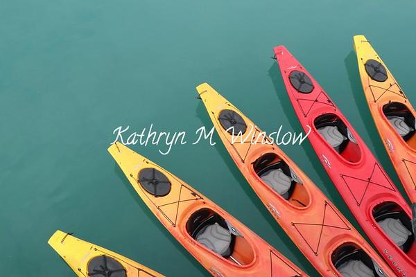 Colorful Kayaks 2