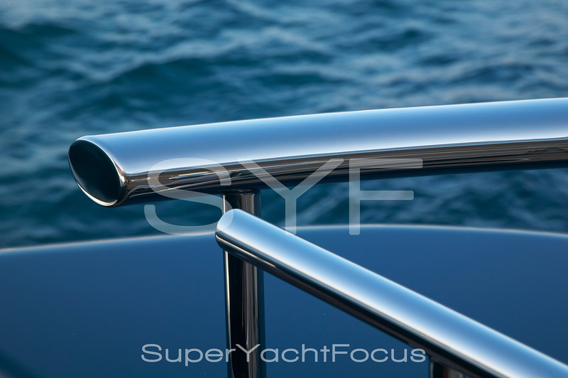 Abstract yacht detail