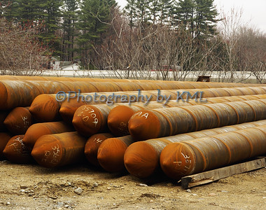 rusty construction materials