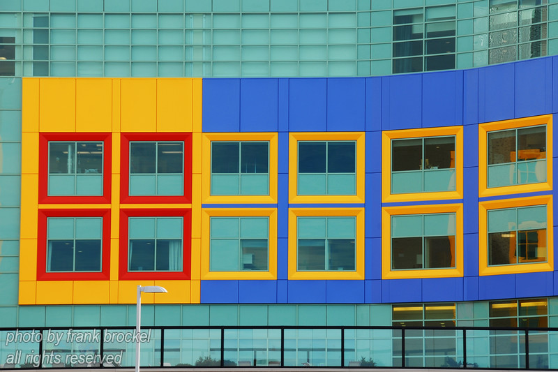 Calgary Childrens' Hospital windows