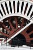 The wheel of the stern wheeler SS Moyie, Kaslo, B.C.