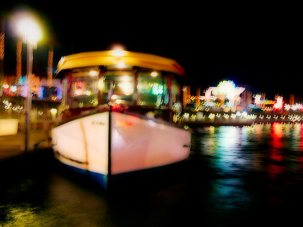 River Boat at Night - Orlando, FL