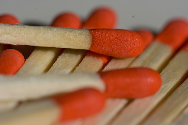 Red Matches.  Dynamo helped me take this shot...