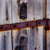 Barn door hinge, Park City, Utah.