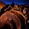 Old farm machinery parts, Park City, UT