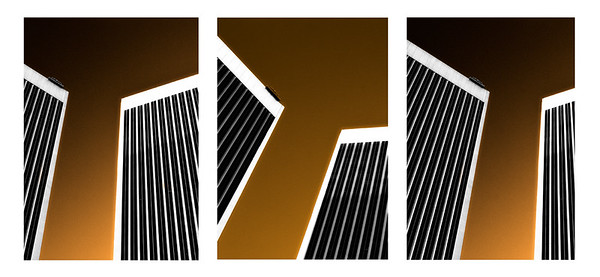 Abstract Architectural Triptych #1