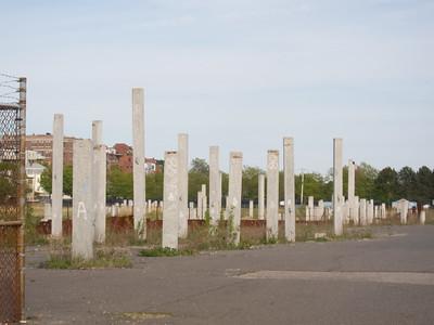 Unfinished East Boston development site