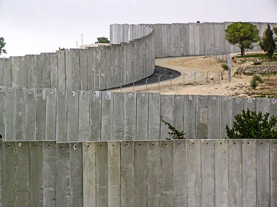 Separation Wall at Abu Dis, Jerusalem