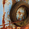 Rust, Peeling Paint and a Tire