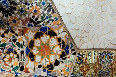 Park Guell Stonework Detail