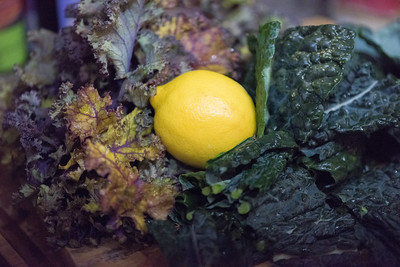 Lemon and Kale