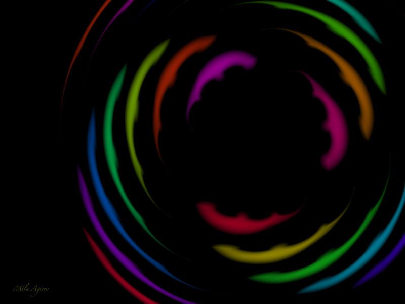 Spinning at night 6