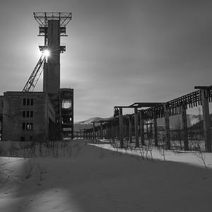 Industrial landscape 2, Kola Peninsula, Russia