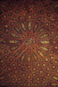 Palacio Nazaries Ceiling Detail
