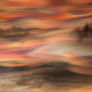 Nacreous Clouds, Antarctica
