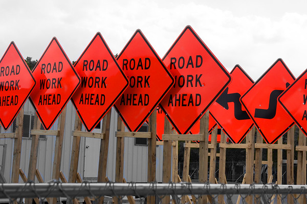 Ready road signs