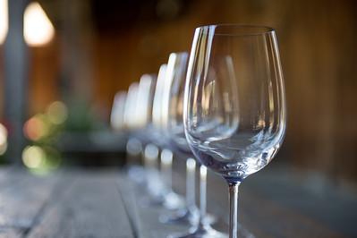 Wine Glasses at Santa Ynez Valley Tasting Room