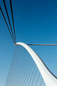 Samuel Beckett Bridge Tension Cables