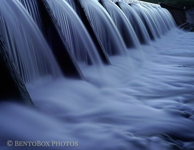 Water Over a Dam
