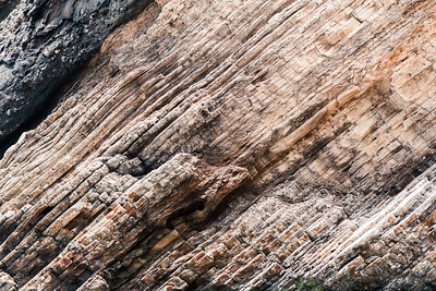 Rock Striations at Gaviota Pier