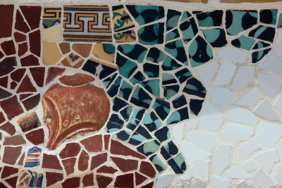 Park Guell Bench Detail VI