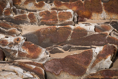 Macro Rocks at Gaviota Pier