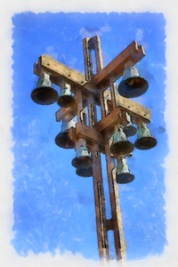 Church_Bells - Abstract_DAP_Aquarell