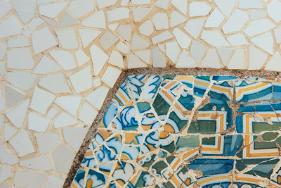 Park Guell Stonework Detail III