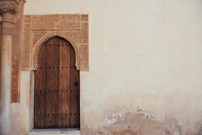 Palacio Nazaries Door