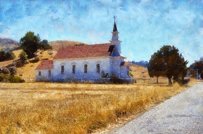 Old St Marys Church Nicasio_Benson