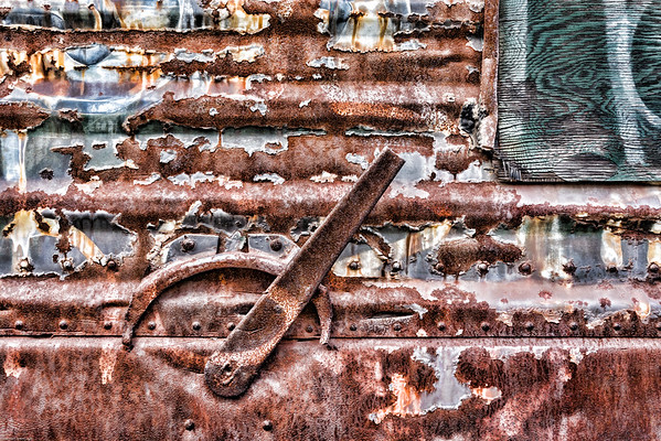 Rusted Rail Car