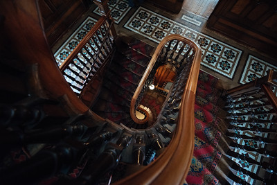 Larnach Castle Stairs