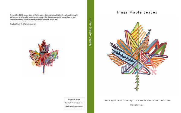 Inner Maple Leaves Book Covers