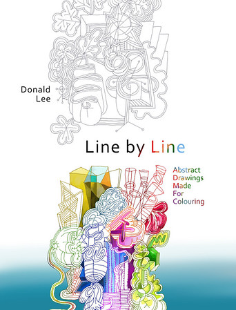 Line by Line Colouring Book