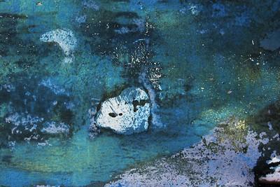 Blue Moon Night ~ Grass Island, Greenwich ~ Boatscape Series 2016