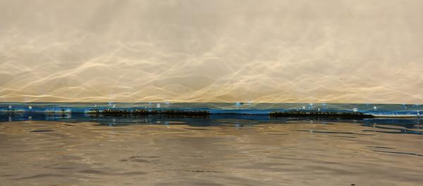 "CitiLights -  Waterline - Boatscape  Collection 2012 <br /> ""SideKick"" ~ Rowayton, CT"