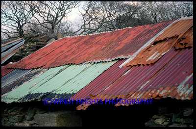 Inis Beig Near Baltimore Rusty Roof 25-02-01