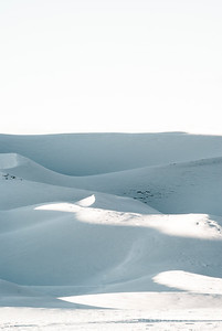 The Great Sand Dunes in Snow