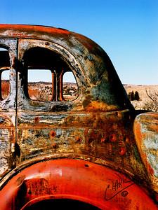 Paradise Car Bullet Holes