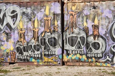 Graffiti, Bywater neighborhood, New Orleans