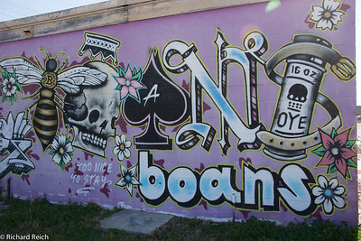 Graffiti, Bywater District, New Orleans