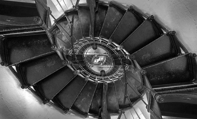 Alcatraz Spiral I