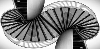 Munich stairway