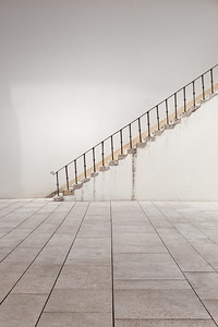 Stairs of the National Museum Machado de Castro in Coimbra