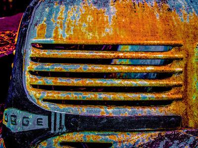 Rusty Dodge Truck