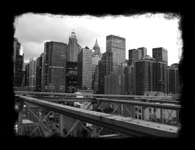 The Big Apple from the Brooklyn Bridge