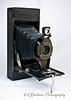 No. 2A Folding Autographic Brownie<br /> <br /> Kodak, No. 2A Folding Autographic Brownie was produced from 1915 to 1926, Kodak changed from square end corners to round end corners in 1917.  That puts this one in the first two years of the production period.  Film Type 130