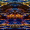 Watery Gold Wings : Symmetry Series #59