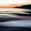 Abstract intentional camera movement sunset backgounds